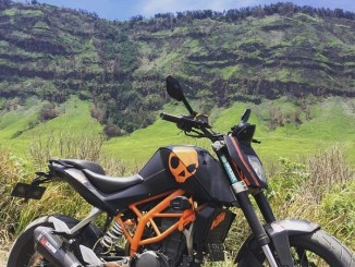 Modifikasi KTM Duke 200 versi Tour