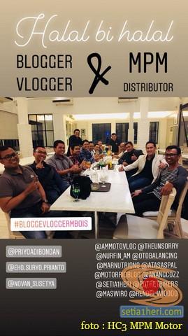 Keseruan Halal Bihalal Blogger dan Vlogger bersama Honda di Jawa Timur tahun 2018 (11)