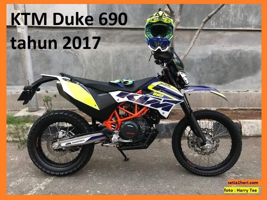 gambar KTM Duke 690 tahun 2017