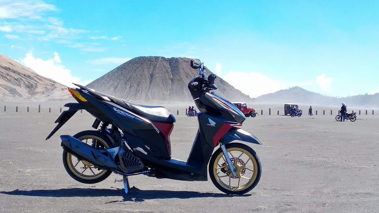 motor matic di gunung bromo kuat nanjak atau tidak