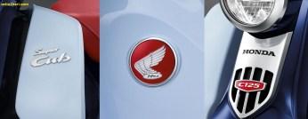 Emblem Honda Super Cub C125 tahun 2018