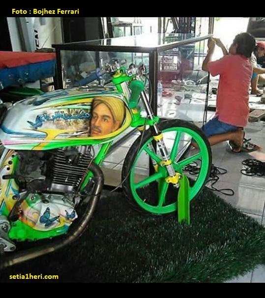 Sejarah dan kisah motor legendaris balap liar 1200m Honda GL Sapu Angin Barbara Jawa Timur