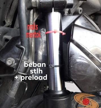 Solusi alternatif pada shock depan motor matic yang dirasa keras atau terlalu empuk (1)