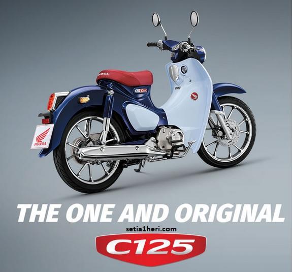 Spesifikasi, harga dan pilihan warna Honda Super Cub C125 tahun 2018