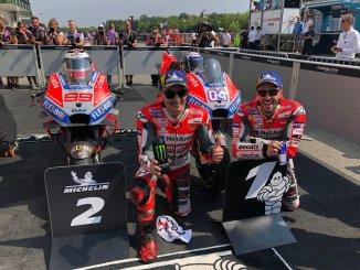 duo ducati juara pada gp Brno Ceko tahun 2018