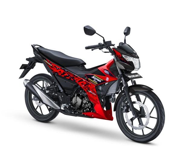 Pilihan Warna Baru All New Satria F150 tahun 2018, lebih berani brosis...