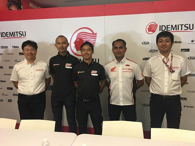 Dimas Ekky siap berlaga di GP Moto2 2019 bersama Idemitsu Honda Team Asia