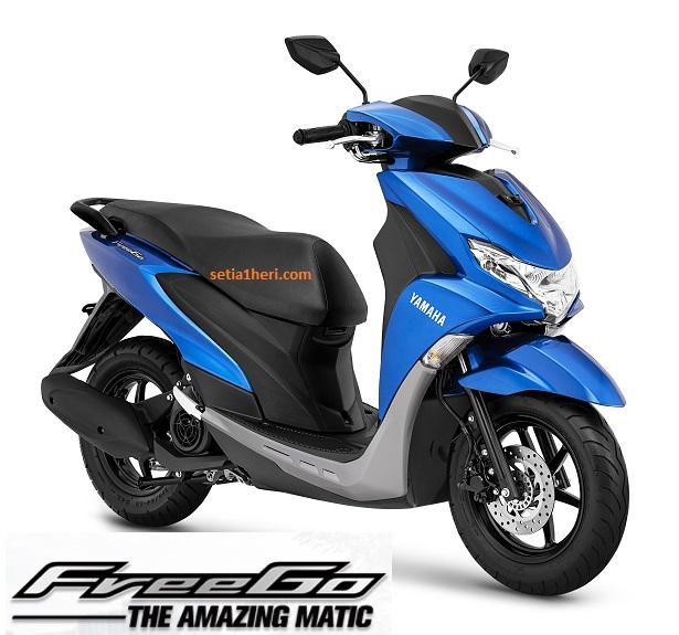 Daftar Harga Yamaha FreeGo Area Karesidenan Madiun & Kediri tahun 2018