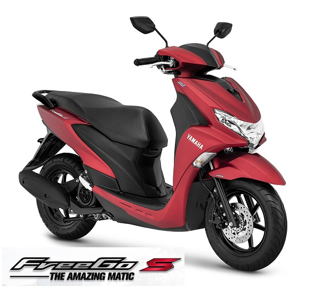 FreeGo S Matte Red
