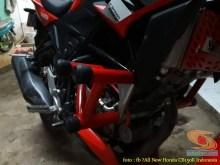 Kumpulan gambar inspirasi frame slidertubular atau crash bar pada Honda CB150R Street Fire (8)