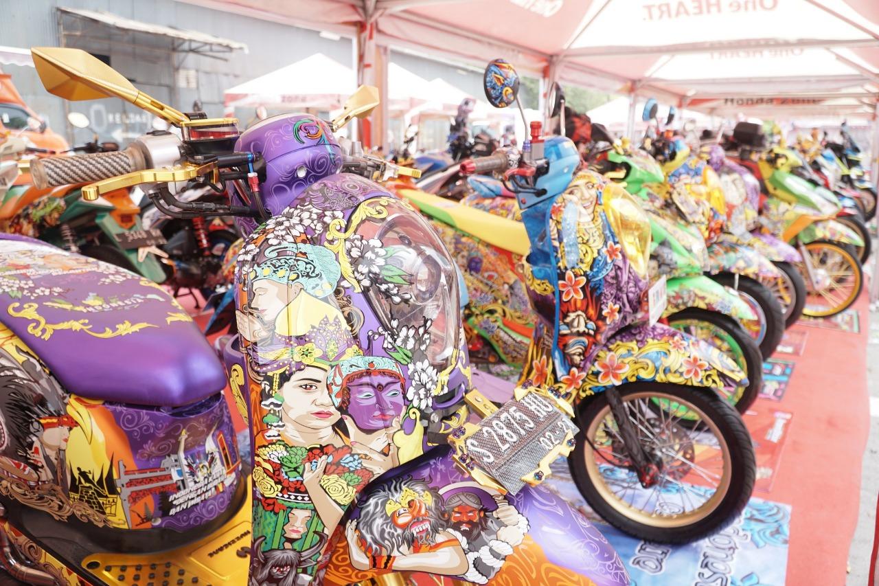 Motor-motor Honda modif keren di HMC 2018 Seri Surabaya, Ini Daftar Pemenangnya brosis