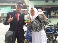 Nunggang Honda Verza, pemuda ganteng jas parlente penjual tahu asal Bogor ini pikat gadis hingga emak-emak gans (7)