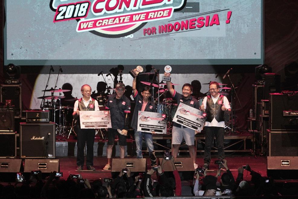 Inilah 3 Modifikator Jawara Honda Modification Contest (HMC) 2018