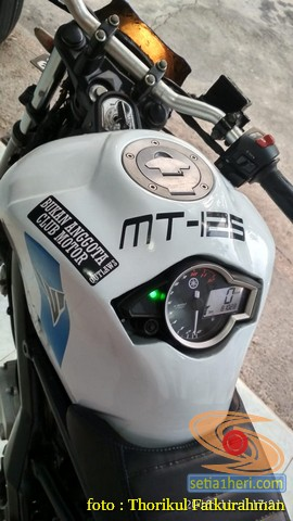 Sadis, Modifikasi Yamaha vixion 2014 Minorfighter asal Ponorogo (2)