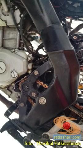 Sadis, Modifikasi Yamaha vixion 2014 Minorfighter asal Ponorogo (4)