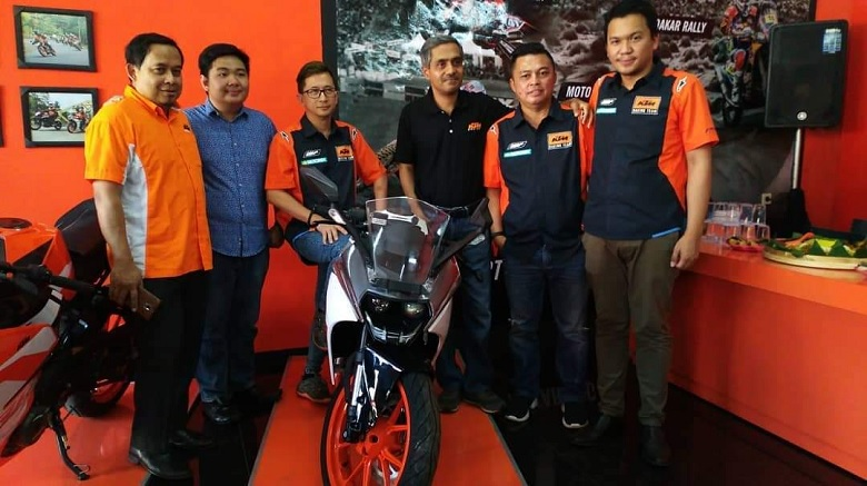 pembukaan diler KTM Sidoarjo tahun 2018