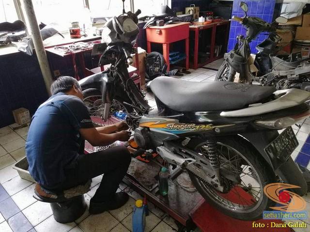 Kisah suka duka biker setia bersama tunggangannya, Suzuki Shogun 125 R tahun 2004