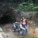 Kumpulan foto biker prewedding dan romantisme pasangan diatas motor trail brosis (25)