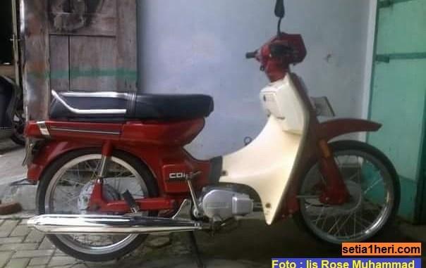 Niat hati Kado ultah istri Yamaha V80 rekondisi, ternyata lebih minta mentahnya....hehehe