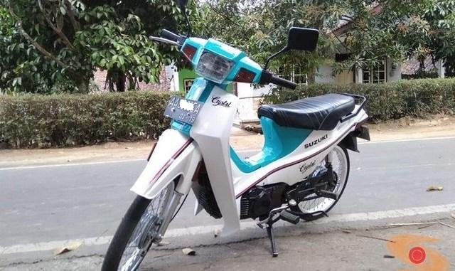 Restorasi Suzuki Crystal lansiran1990, keren masbrow.. (2)
