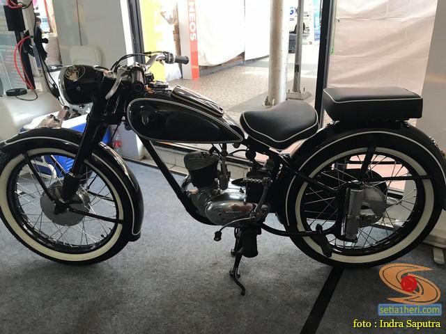 Restorasi motor klasik, unik dan langka merk DKW Union Tahun 1955 (Made in Germany) (1)