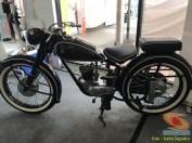 Restorasi motor klasik, unik dan langka merk DKW Union Tahun 1955 buatan jerman