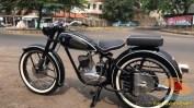 Restorasi motor klasik, unik dan langka merk DKW Union Tahun 1955 (Made in Germany) (2)