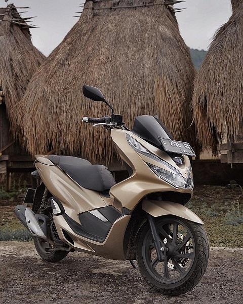 Turing Honda PCX libas Pulau Flores hingga Pulau Bali