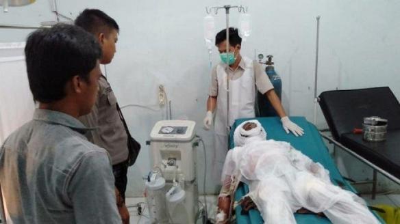 deni-pantra-19-supir-mobil-agya asal Bangka Tengah meninggal dunia saat terbakar isi BBM