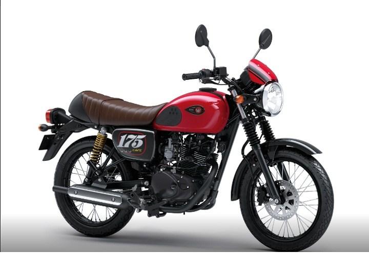3 Pilihan warna Kawasaki-W175-Cafe- tahun 2019