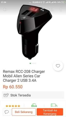 Daftar charger mobil murah dan rekomended