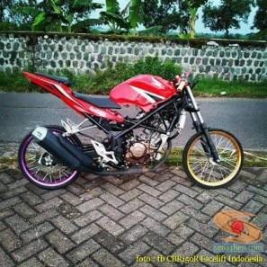 Kumpulan gambar modifikasi Honda CBR150R tanpa fairing (2)
