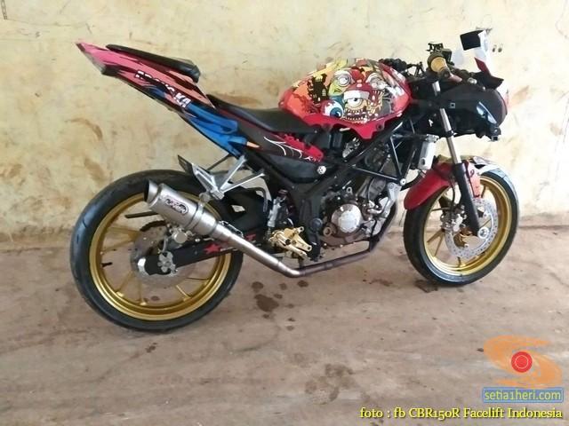 Kumpulan Gambar Modifikasi Honda Cbr150r Tanpa Fairing Setia1heri Com