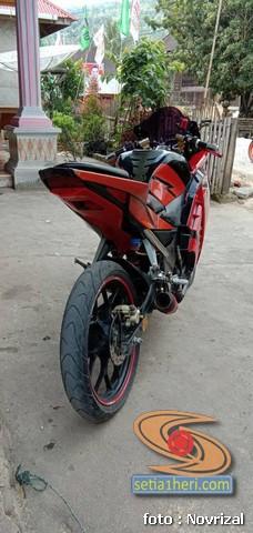 Modifikasi Honda Supra Fit full fairing kayak motor sport brosis (4)