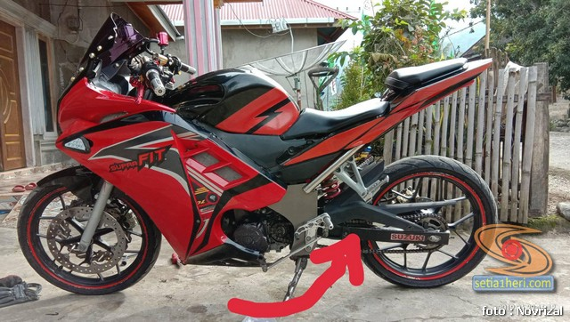 Modifikasi Honda Supra Fit Full Fairing Kayak Motor Sport