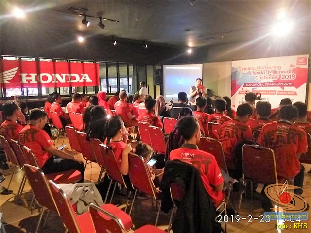 Serunya Cinema Gathering with Honda Millenial Customer 2019 di Marvell City Surabaya (5)