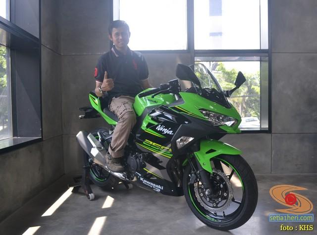 blogger setia1heri bersama kawasaki ninja 250 kipass