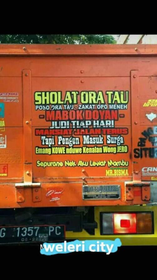 Kumpulan Quotes Truck Lovers Indonesia Setia1heri Com