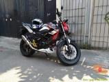 Kumpulan gambar modifikasi sepeda motor pakai piringan cakram besar brosis (10)