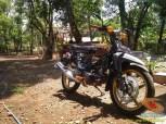 Kumpulan gambar modifikasi sepeda motor pakai piringan cakram besar brosis (20)