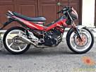 Kumpulan gambar modifikasi sepeda motor pakai piringan cakram besar brosis (24)