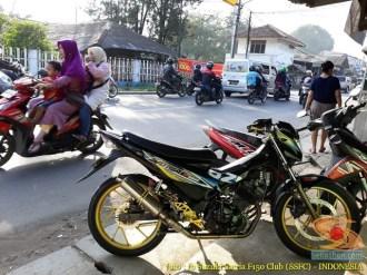 Kumpulan foto modifikasi velg repaint pada Suzuki Satria F150 (7)