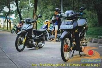 Kumpulan modifikasi motor ceper Honda Supra brosis (7)