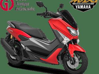 Yamaha Nmax 155 tahun 2019 pilihan warna Matte Red