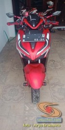 Modifikasi All New Honda Vario 150 merah merona ala sultan brosis (2)