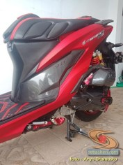 Modifikasi All New Honda Vario 150 merah merona ala sultan brosis (8)