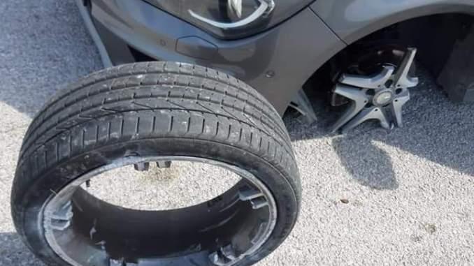 Velg mobil merci ini bisa ambrol, kenali penyebabnya brosis...