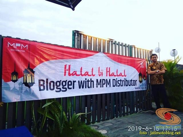Halal bihalal blogger dan vlogger bersama MPM Honda Jawa Timur tahun 2019