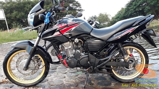 Honda Tiger ini alami overheat di Tanjakan, simak solusinya brosis...