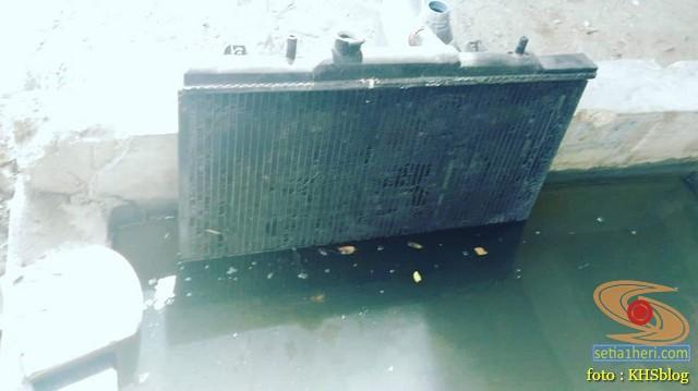 Korok radiator, solusi overheat pada mbah Taruna FGX 2003 (1)